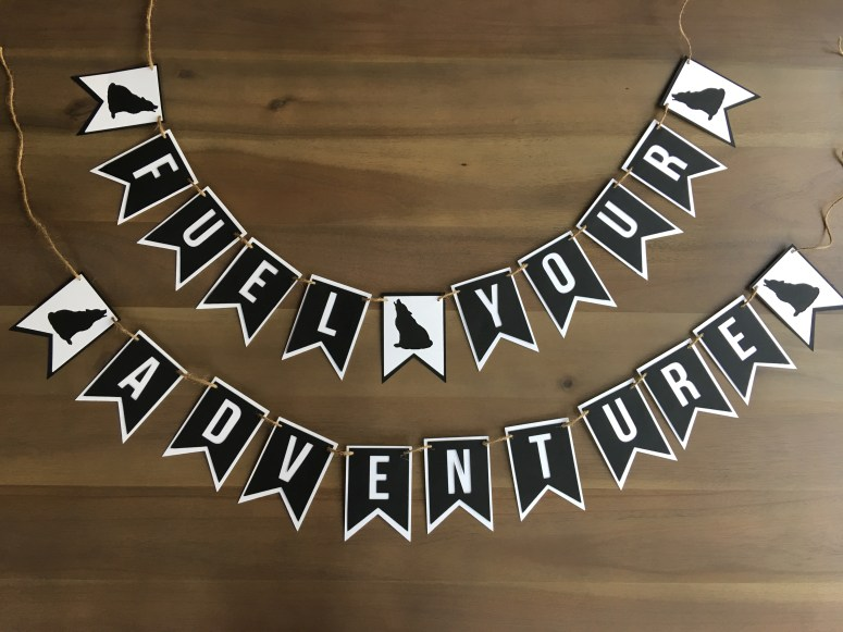 Party Themes for Cold Weather: Adventure Baby Shower