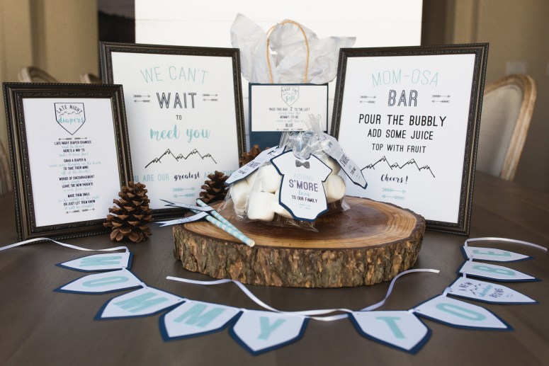 Party Themes for Cold Weather: Mountain shower ideas
