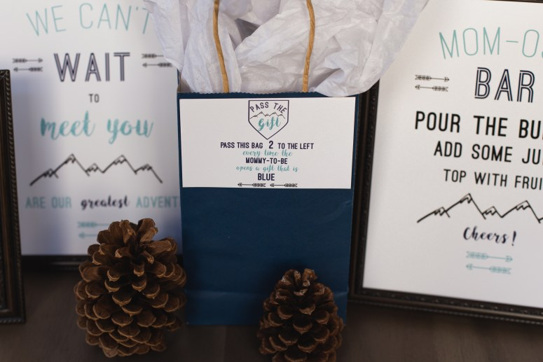 Party Themes for Cold Weather: Woodsy Baby Shower Ideas