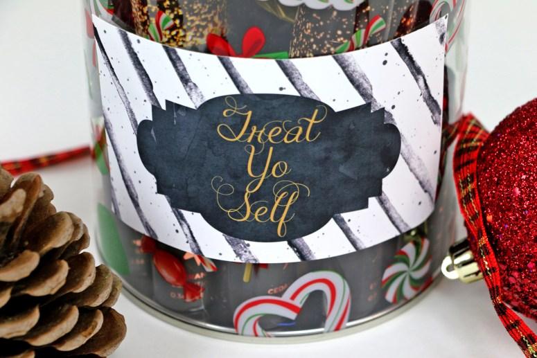 Treat Yo Self Jar Label By A Touch of LA