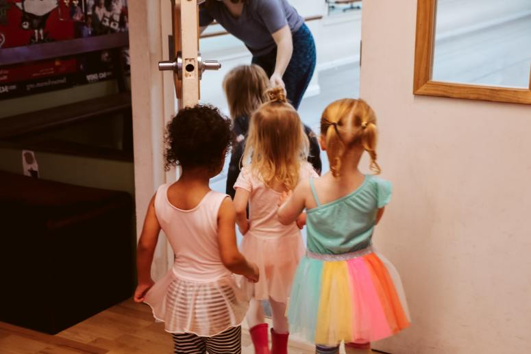 Ballerina Birthday Party Kids