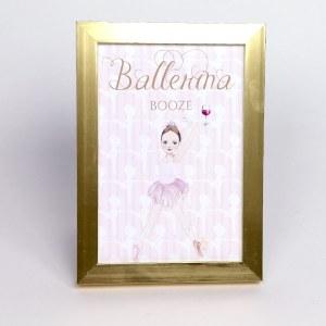 Ballerina Booze Sign for Ballerina Party