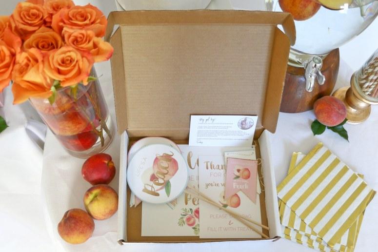 Sweet as a Peach Party in a Box