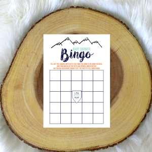 Feminine Adventure Shower Bingo Game