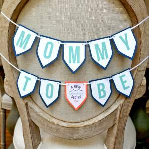 Feminine Adventure Shower Mommy Banner
