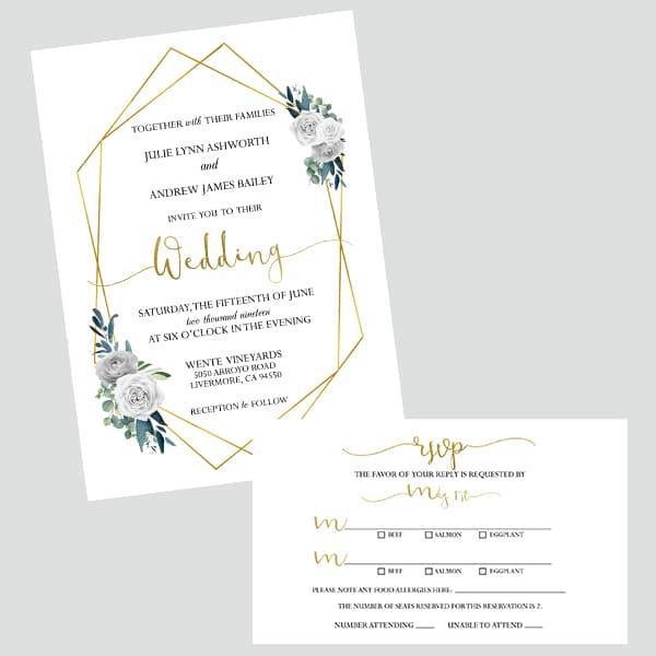 Custom Digital Wedding Invitations