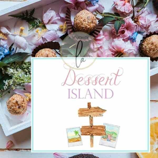 Dessert Island Party Sign