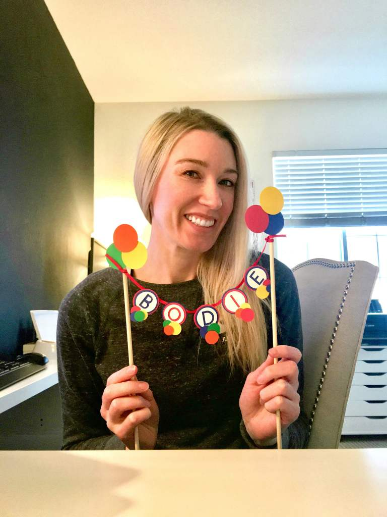 Bouncy Ball Party Decorations: Ball party cake toppers