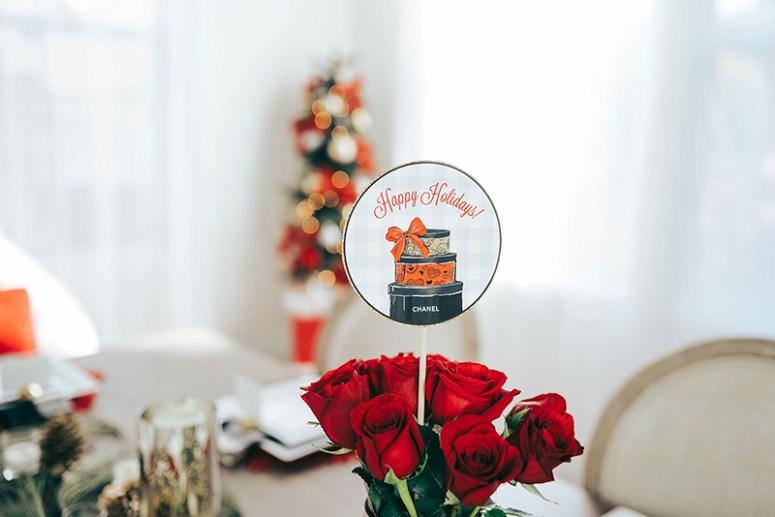 Christmas Party Decoration Centerpieces