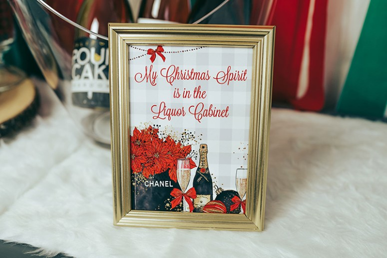 Funny Christmas Party Signs