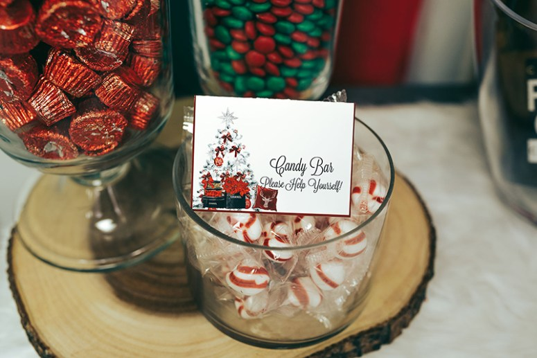 Holiday Party Candy Bar Ideas