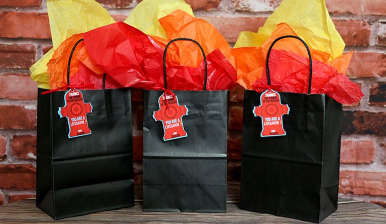 Firefighter Party Supplies For an Easy  Fireman Theme