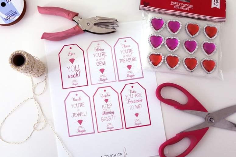 Ring Valentine Printables
