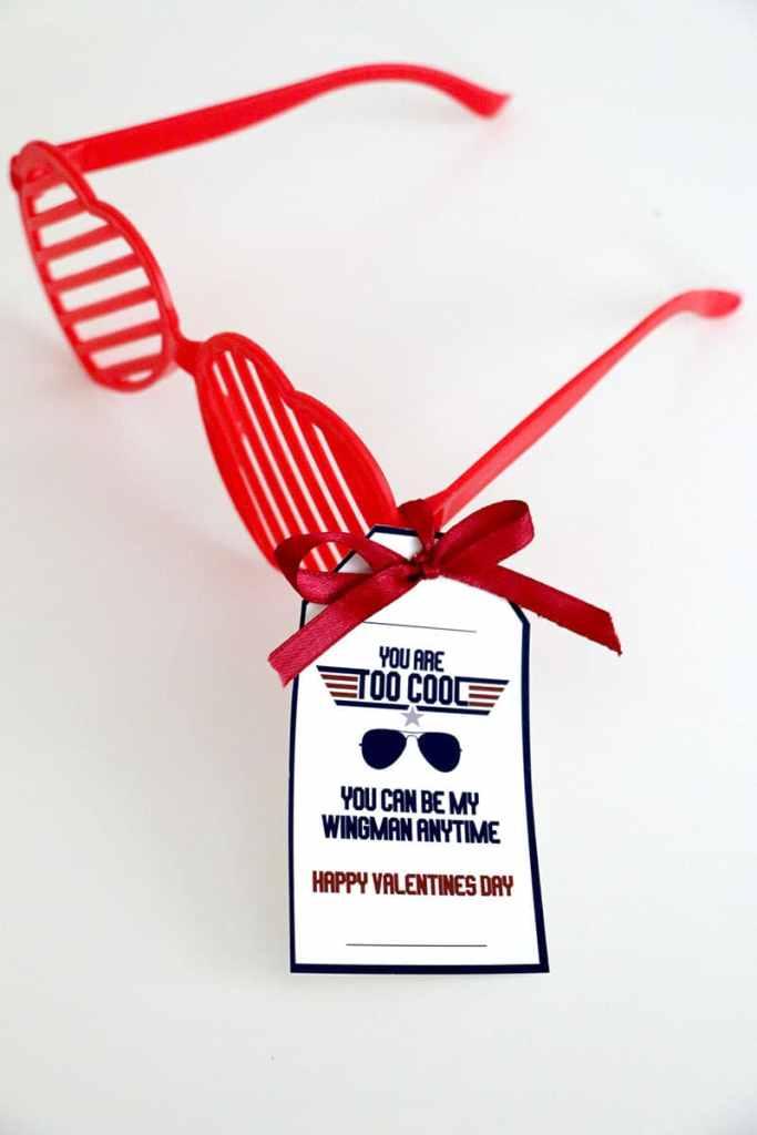 Top Gun Printable Valentines: Dollar Store Valentine Ideas