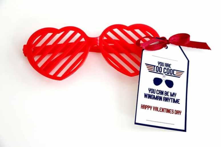 Top Gun Valentines: Dollar Store Valentine Ideas