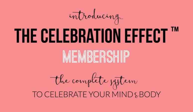 Introducing celebration effect