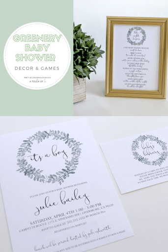 Greenery-Baby-Shower-Decorations