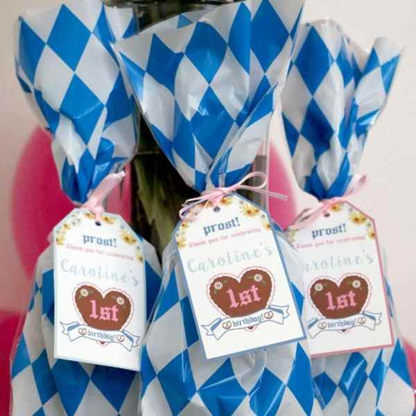 Pink and Blue Oktoberfest Party