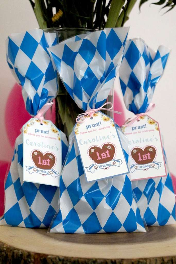 How to Decorate A Girly Oktoberfest Birthday Party: Girly Oktoberfest Editable Printable Favor Tags