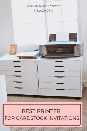Best Printer for Cardstock Invitations