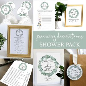 Greenery-Baby Shower
