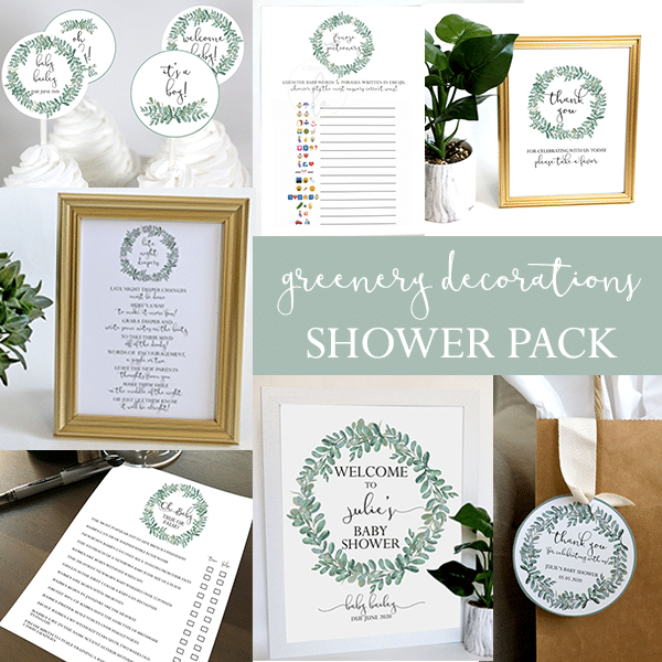 Greenery-Baby Shower