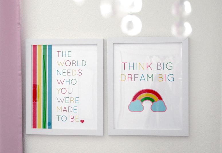 Positive Affirmation Posters for Kids