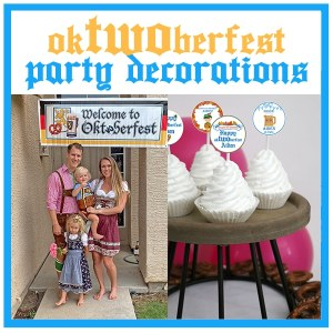 oktwoberfest party: An OkTWOberfest For Your 2 Year Old