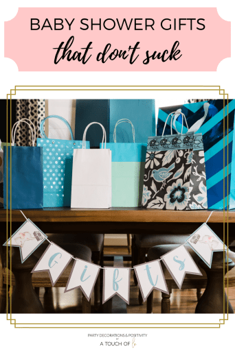 Baby Shower Gifts that Don't Suck
