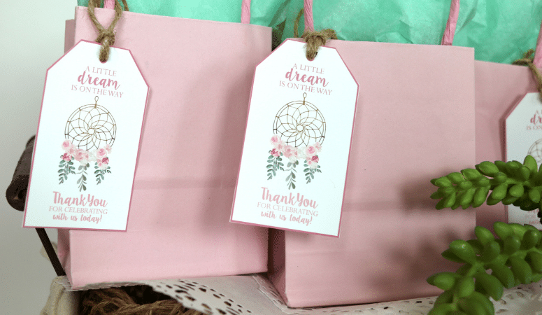 How To Make Party Favor Tags With Your Cricut