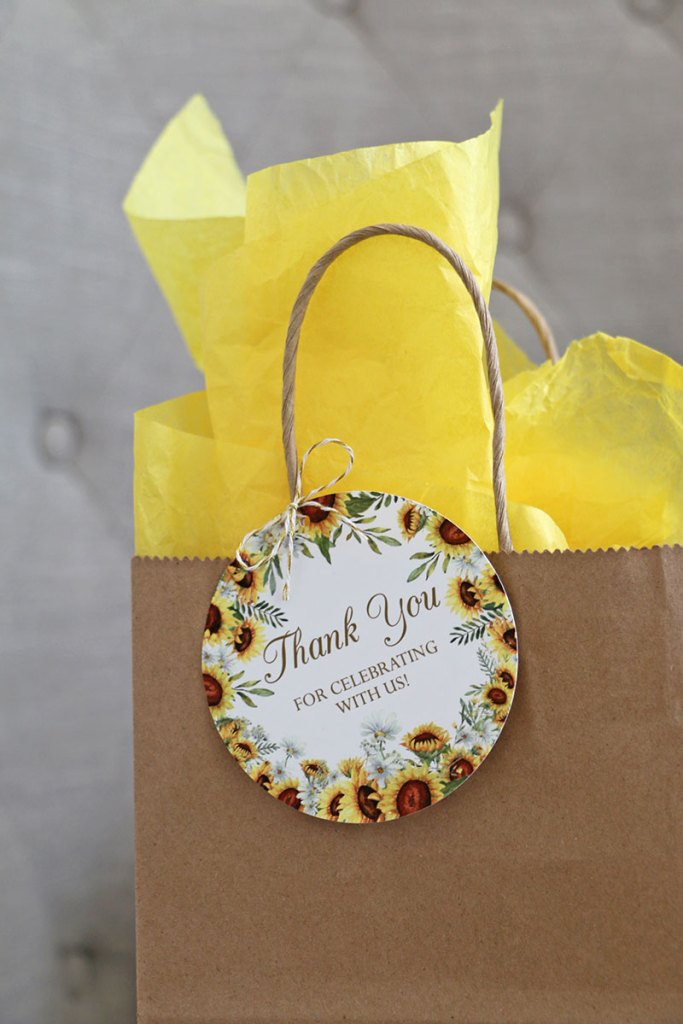 Sunflower-Thank-You-Tag