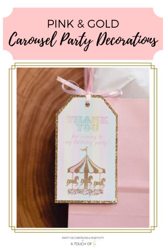 Carousel Party Decor