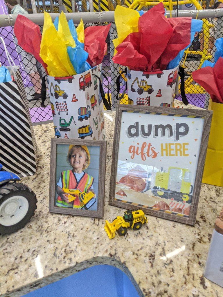 Dump Gifts Here Sign