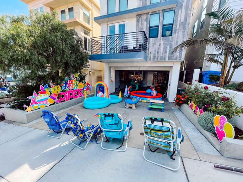 Popsicle-Party-Front-Yard-Party