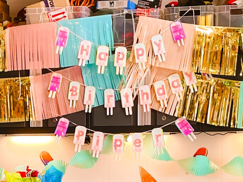 Chill Out With Popsicle First Birthday Party Decorations