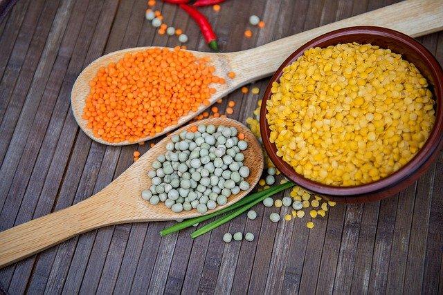 lentilles légumes secs