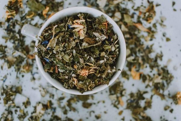 tasse d'herbe, les bienfaits des tisanes