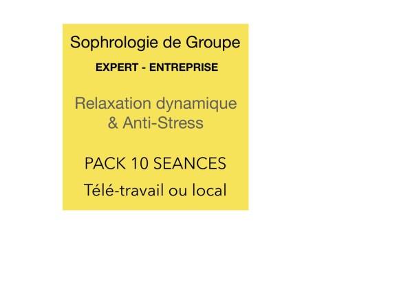 Sophrologie de groupe pack 10 séances