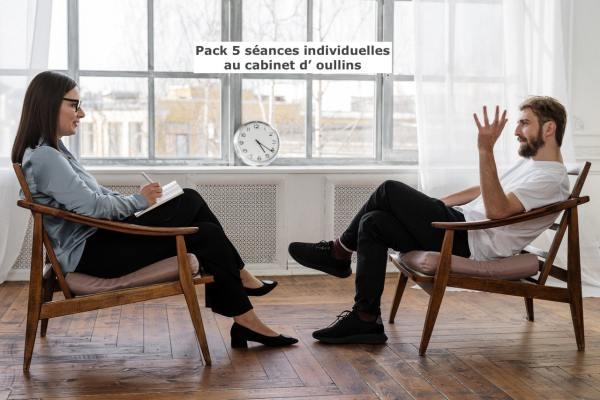 Pack 5 séances individuelles de sophrologie