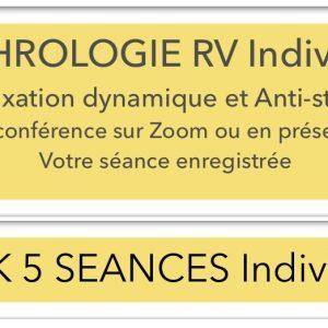 SOPHROLOGIE RV INDIVIDUEL PACK 5 SEANCES