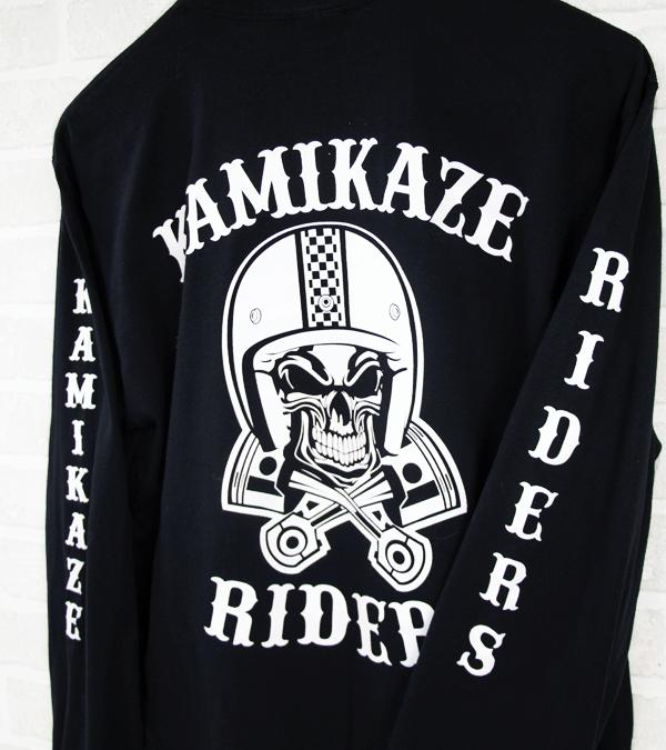Sérigraphie BikeRiders Kamikaze DOS