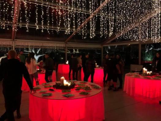 Celebrar un evento en un pazo de Pontevedra - distribución de las mesas en el Pazo A Toxeiriña