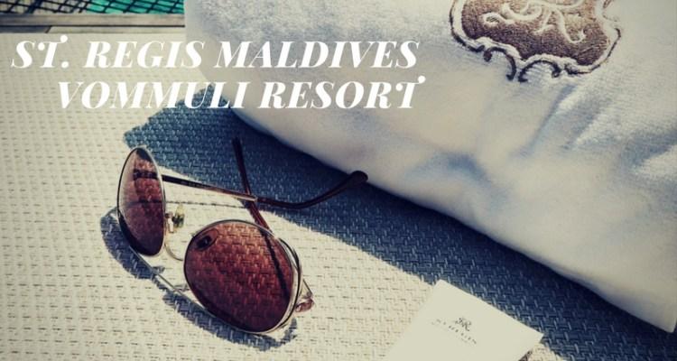 St. Regis Vommuli Maldives: Video.