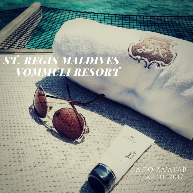 The St. Regis Maldives Vommuli Resort: A sophisticated island getaway.