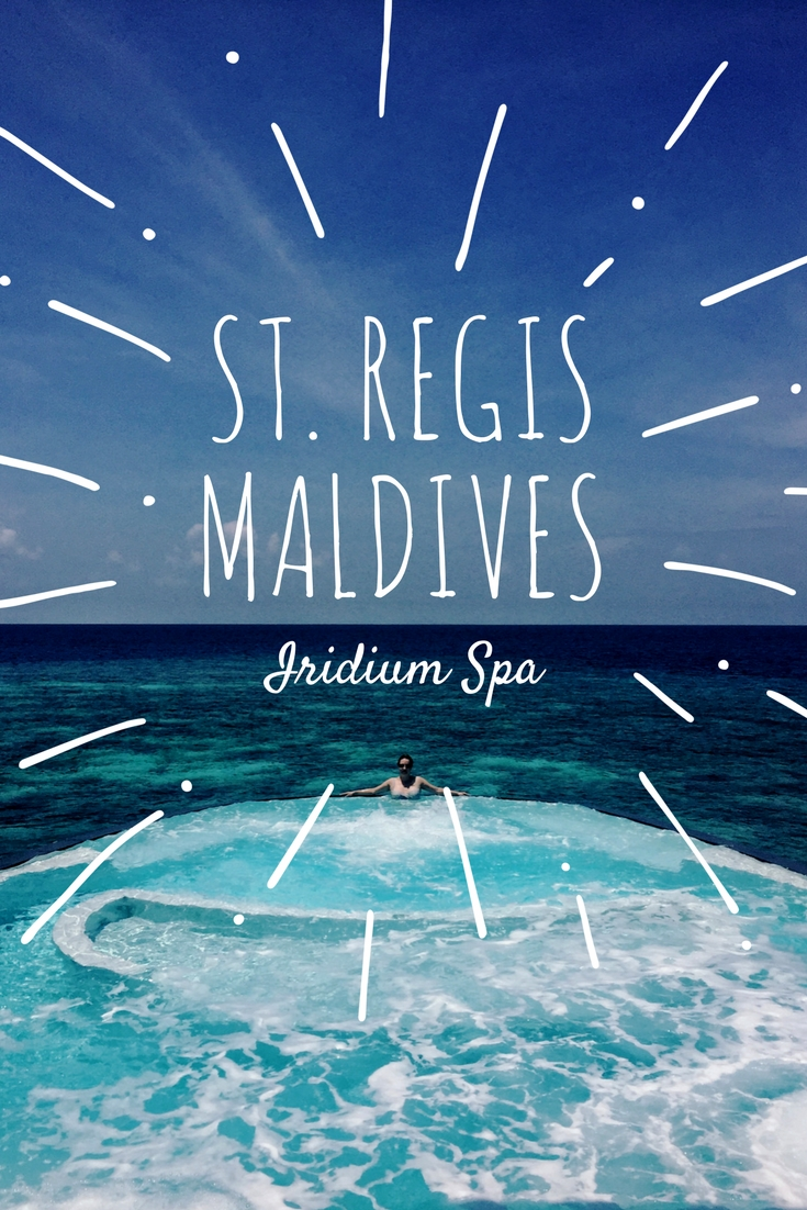 St. Regis Maldives Vommuli: Iridium Spa.