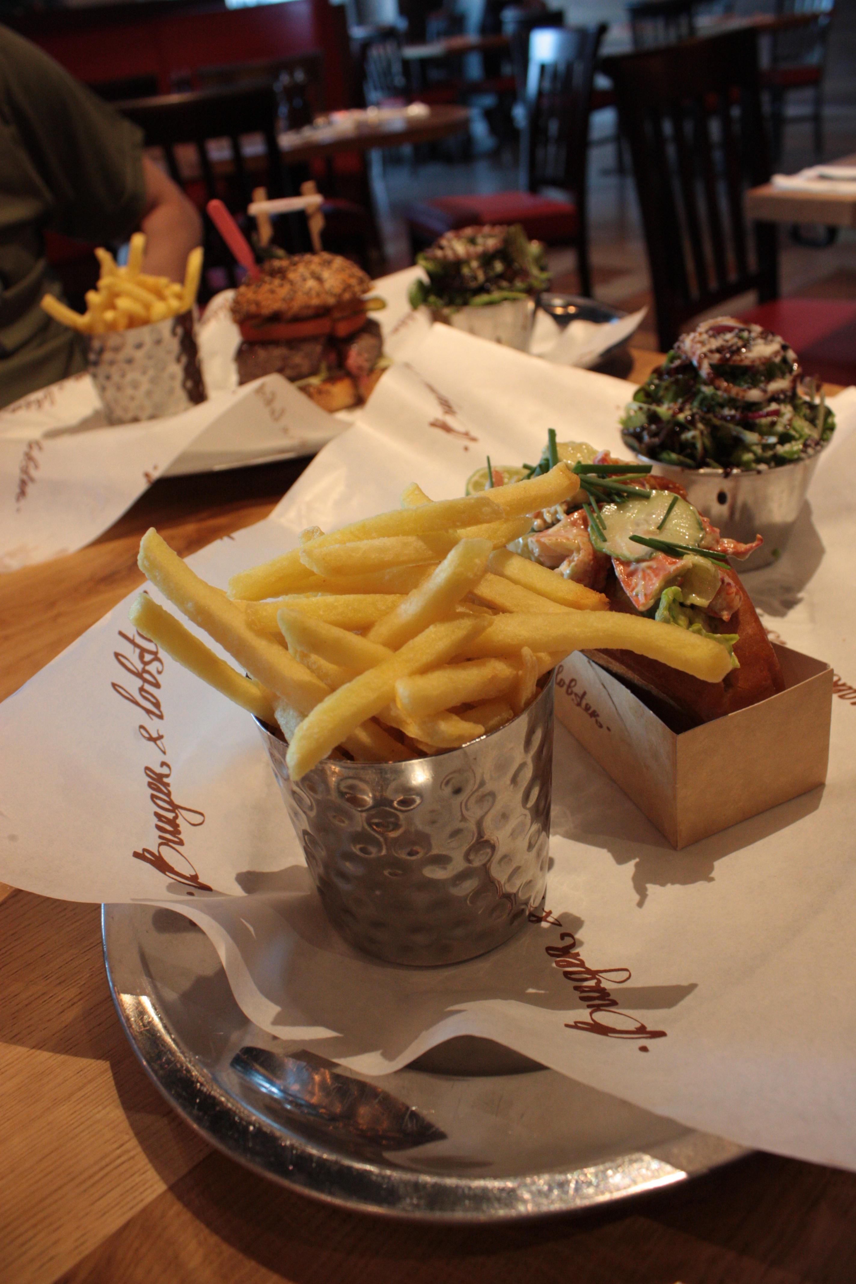 Burger & Lobster: Updated Menu