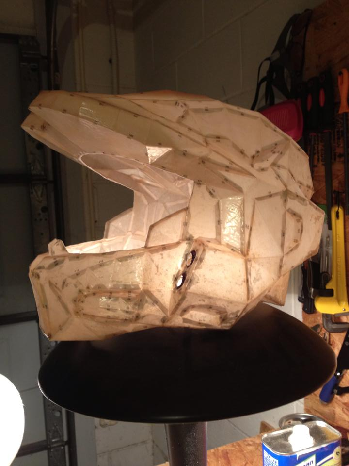 Mark VI Helmet build