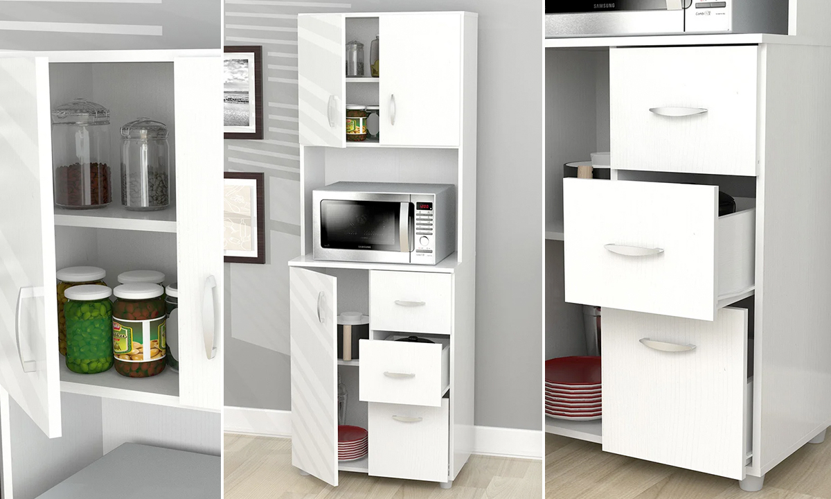 Tall Kitchen Storage Cabinet From Aed 749 A To Z Furniture