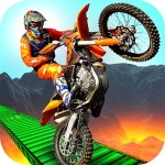 3D Crazy Imposible Tricky BMM Bike Racing Stunt