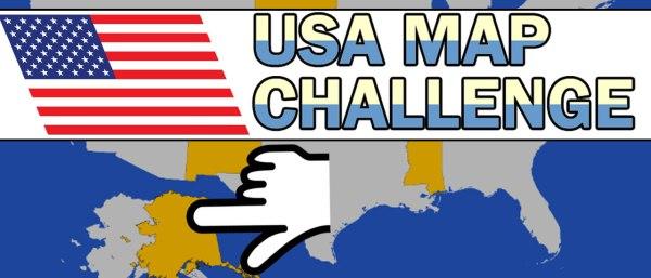 USA Map Challenge